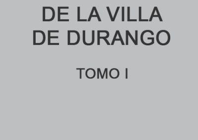 Edad moderna en la Villa de Durango I
