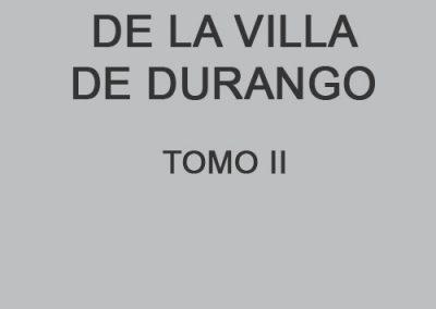 Edad Moderna de la Villa de Durango II